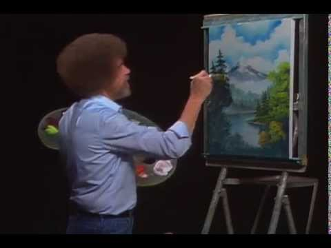 Bob Ross - Mystic Mountain (High Quality) - Season 20 Episode 1