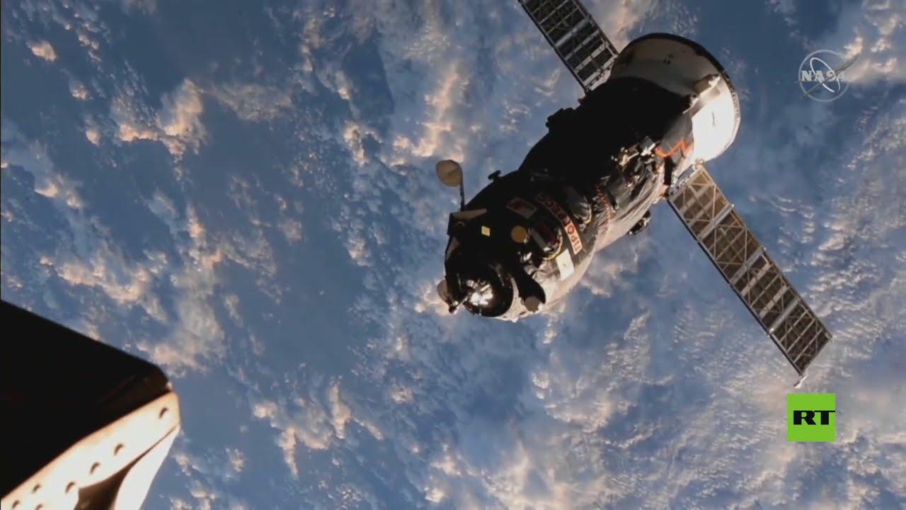 التحام تاريخي لشاحنة -بروغريس- الفضائية الروسية بالمحطة الفضائية الدولية  - نشر قبل 12 ساعة
