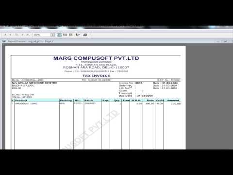 marg retail software free
