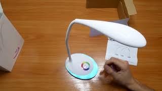 WILISHI DS001 led лампа || Обзор и Распаковка НАСТОЛЬНОЙ ЛАМПЫ
