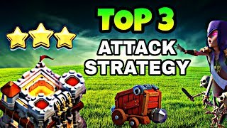 TOP 3 TOWN HALL 11 WAR ATTACK STRATEGY | TH11 BEST ATTACK STRATEGY 2018 | CLASH OF CLANS