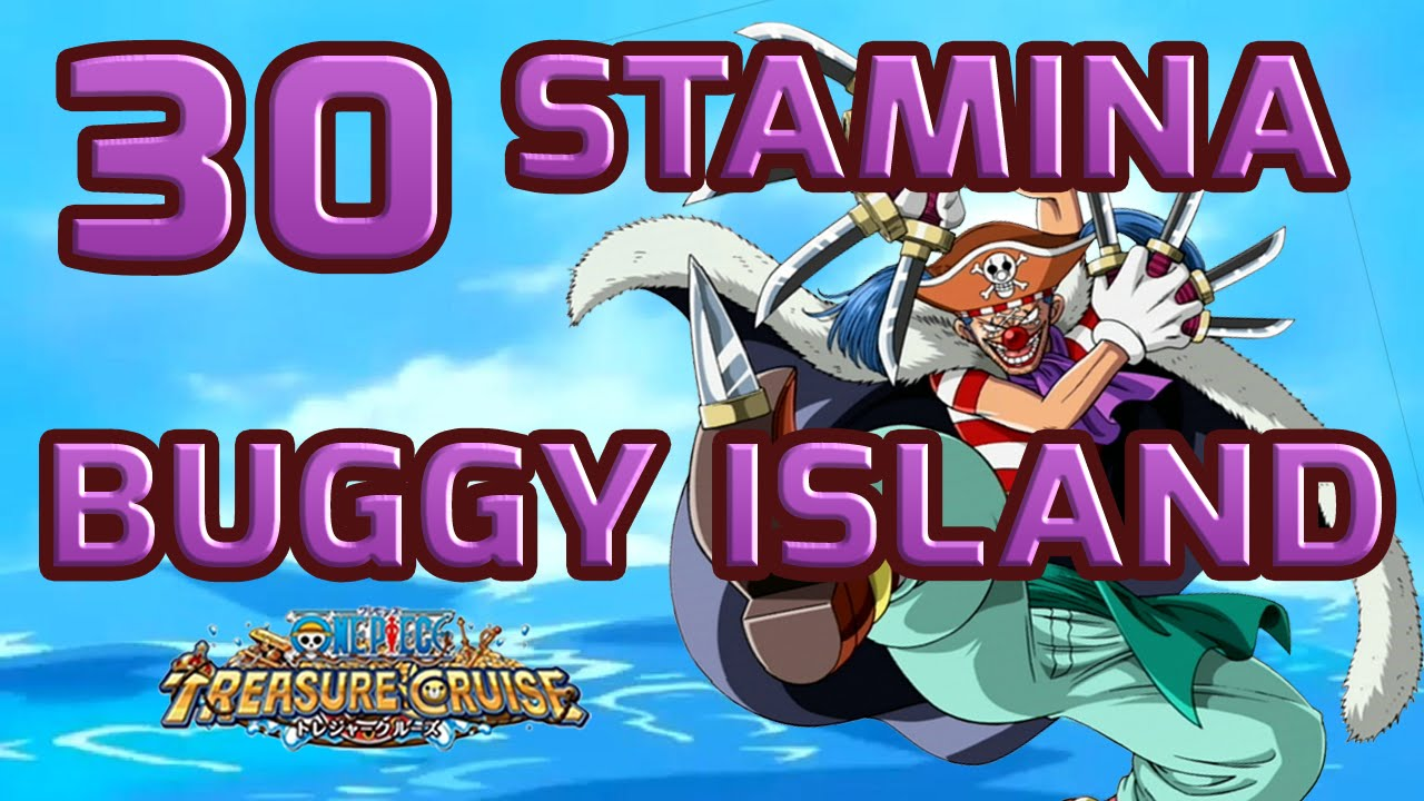 how to get more stamina in one piece treasure cruise