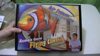 Air Swimmers RC Flying Clown Fish Unboxing