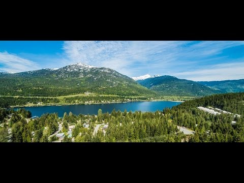 Aerial Video Of Whistler Estate Property - Whistler, BC, Canada - By Reactive Design Inc.