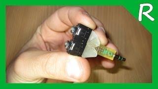 Аудио разветвитель 3.5 мм своими руками [Обзор]