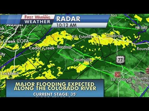 Flooding expected along the Colorado River