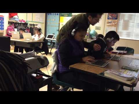 Hour of Code at Los Padres Elementary School