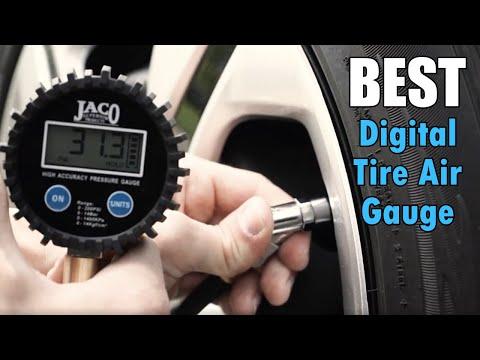 Best Digital Tire Pressure Gauge - ElitePro Series By JACO