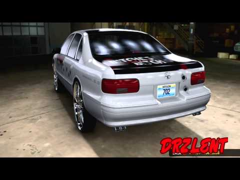 MCLA MIDNIGHT CLUB LOS ANGELES OLD DRZLENT BIG WHEELS CARS HD PART 1