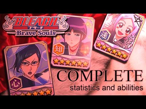 Bleach Brave Souls (NEWS): NEMU, YACHIRU, NANAO Stats and Abilites!