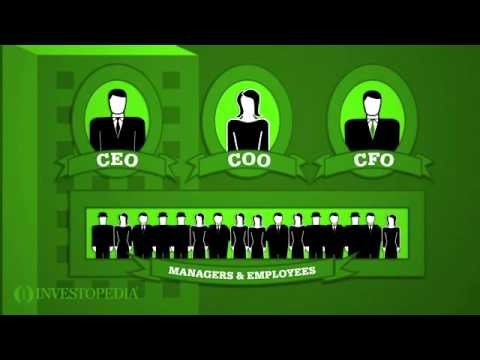 Investopedia Video: Understanding A Company's Corporate Structure