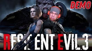 NOPE! I'M TOO SCARED TO PLAY THIS GAME!! [RESIDENT EVIL 3] [DEMO]