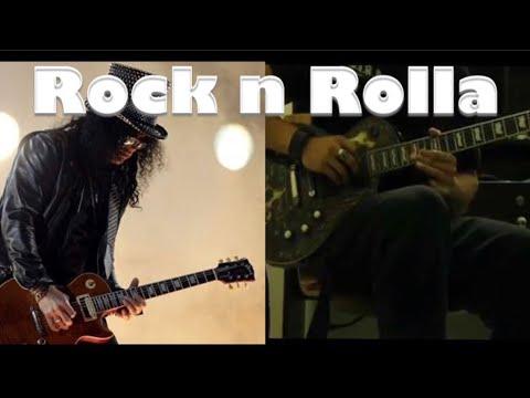 Rock guitar solo 'Rock n Rolla' By Maxim.(influenced by slash)