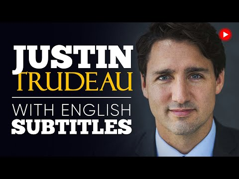 ENGLISH SPEECH   JUSTIN TRUDEAU: We're All the Same (English Subtitles)