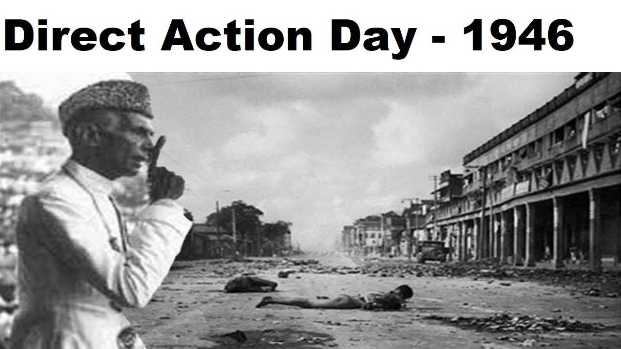 direct action day gktoday
