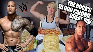 THE ROCK'S LEGENDARY CHEAT DAY CHALLENGE   10,000+ CALORIES