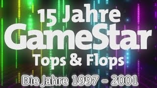 15 Jahre GameStar - Tops & Flops 1997 bis 2001 (Spiele-Rückblick)
