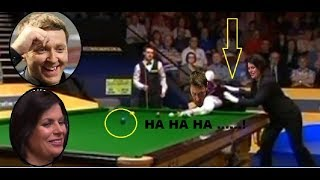 SNOOKER TOP 10!!! FUNNIEST MOMENTS EVER FUNNY CB