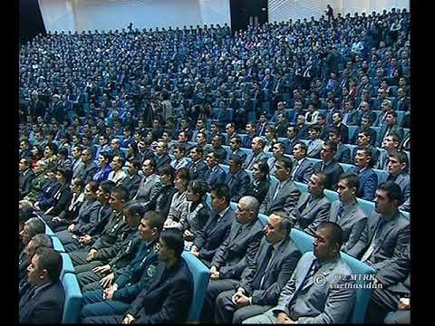 Statement of the First President of the Republic of Uzbekistan (uzbek)