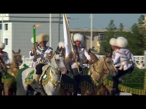 Tocha dos Jogos já chegou a Asgabate - sport
