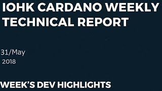 Weekly Cardano Technical Report Explained (May 31st)