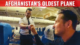 FLYING THE WORLD's OLDEST AIRBUS - AFGHANISTAN's A310!