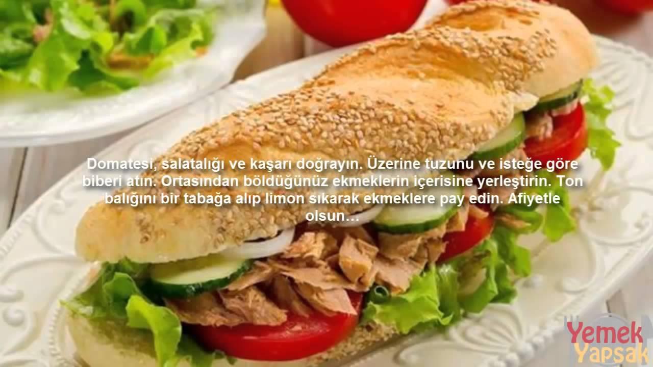 Sosisli Sandviç Goralı Sandviç Tarifi Videosu