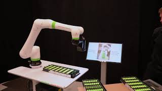 AI iRVision Inspection with the FANUC CRX-10iA Collaborative Robot
