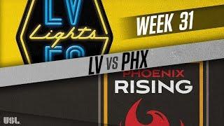 Las Vegas Lights FC vs Phoenix Rising FC: October 10, 2018