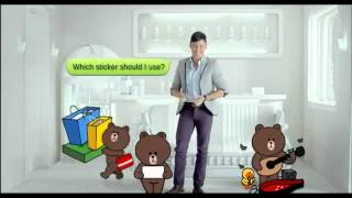 Line free call and messages commercial Philippines screenshot 4