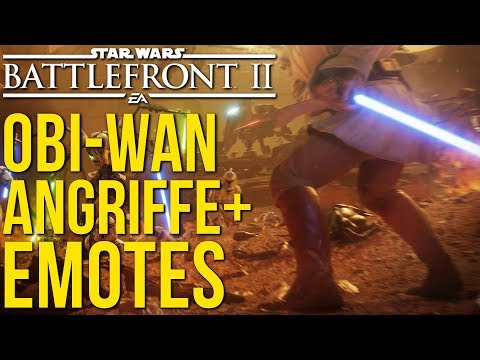 OFFIZIELL: Obi-Wan Angriffe, Emotes und Geonosis Update! Star Wars Battlefront 2 | NEWS thumbnail