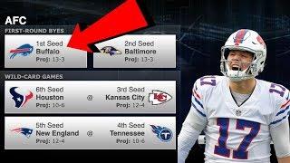 The Buffalo Bills playoff scenarios