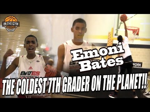 "Young KD | 6'6"" Emoni Bates IS THE COLDEST 7th Grader ON THE PLANET"