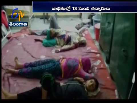 60 Fall Ill After Eating Contaminated Food | Rajasthan