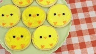 How To Make Easter Chick Cookies!