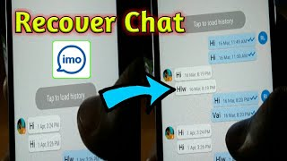 Recover IMO Chat History | Trending Tech Zone
