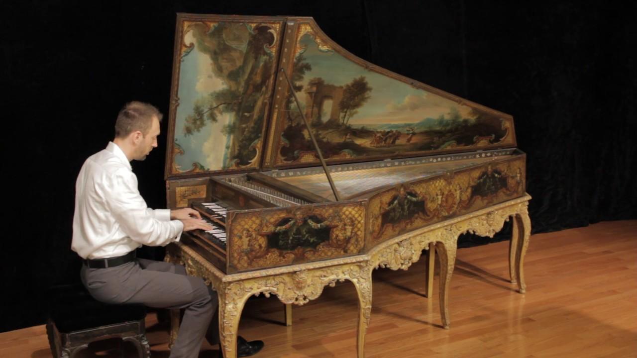 Harpsichord, made by Henri Hemsch, France (Paris ...
