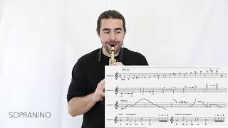 Composer Resources: Saxophone, Air Sounds / Joshua Hyde