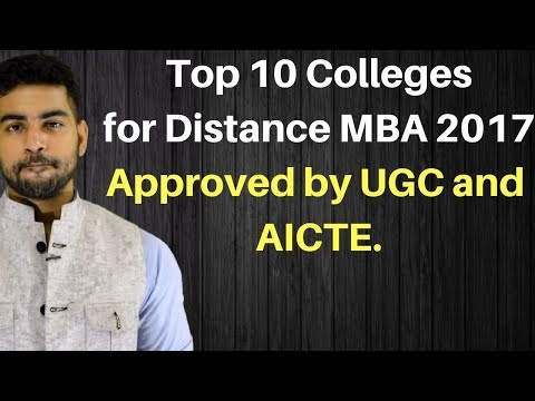 Top 10 College for Distance MBA in INDIA | Top 10 Open MBA College |Top Correspondence MBA College