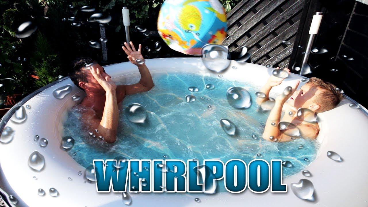 der richtige aufblasbare whirlpool f r den sommer miweba mspa review test deutsch german