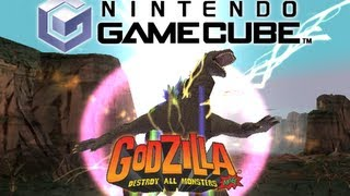 [GCN] All Rage Attacks (Godzilla: Destroy All Monsters Melee)