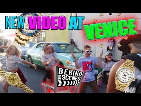 ROCCO FILMS MUSIC VIDEO AT VENICE BEACH