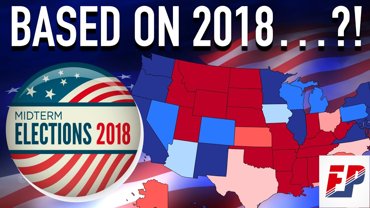 Joe Biden vs Donald Trump   2018 House Map & Analysis