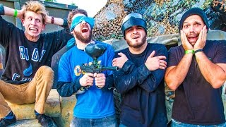vuclip MARCO POLO PAINTBALL! w/ Zane Hijazi & Matt King