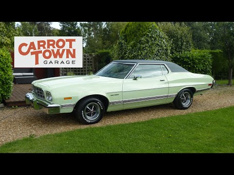 Video Review Of 1973 Ford Gran Torino For Sale Carrot Town Garage Cambridge UK