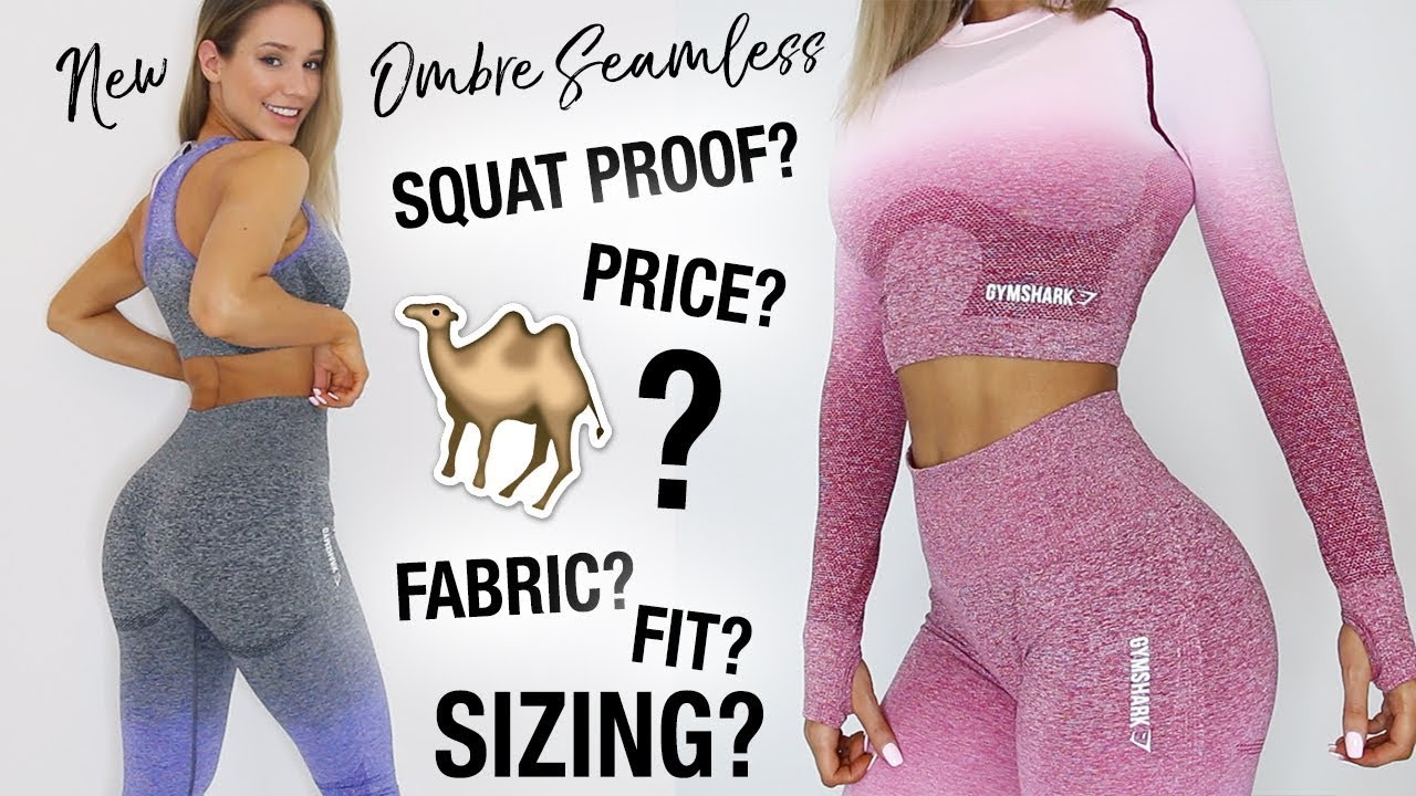 c37d286e64d19d GYMSHARK OMBRE SEAMLESS | IN DEPTH REVIEW | SIZING, CAMEL TOE, SQUAT PROOF??