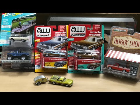 Greenlight, Auto World, And Johnny Lightning New Picks! #Diecast