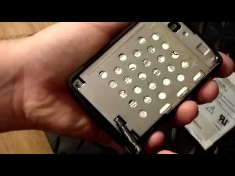 dell jukebox mp3  player hard drive removal