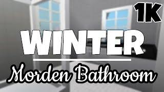 ROBLOX | Winter moderne Badezimmer | Willkommen in bloxburg
