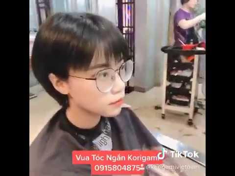 Con gái cắt tóc ngắn giống con trai nhưng vẫn có nét duyên ngầm quyến rũ tên gọi Khả Ái Kawai
